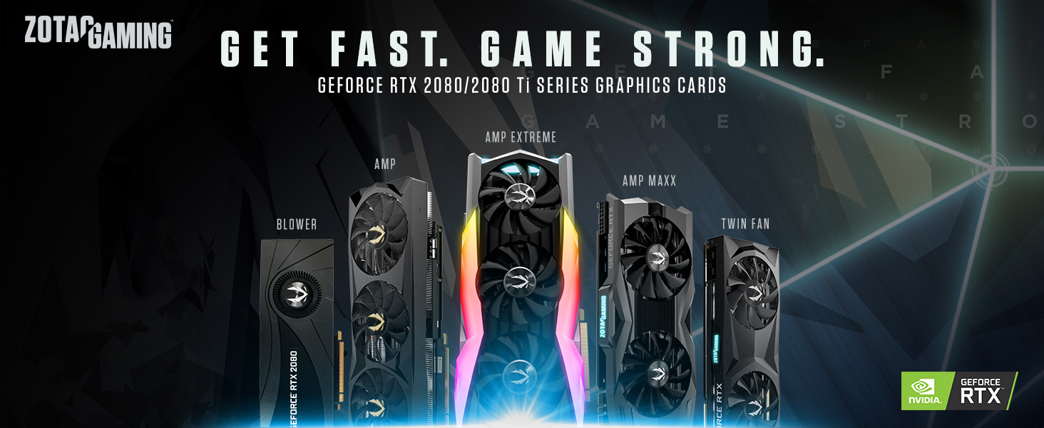 ZOTAC Gaming GeForce RTX 2080 Ti AMP Extreme 11GB GDDR6 352-bit Gaming  Graphics Card, IceStorm 2 0, Extreme Overclock, Freeze Fan Stop, Active Fan