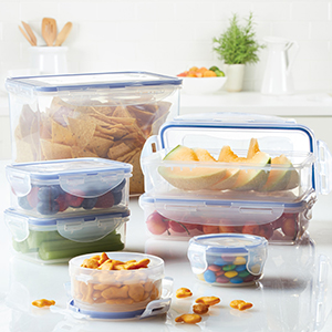 food storage container, food storage, food container, lunch container, airtight container