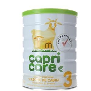 Capricare Leche Infantil a Base de Leche de Cabra - 800 gr ...