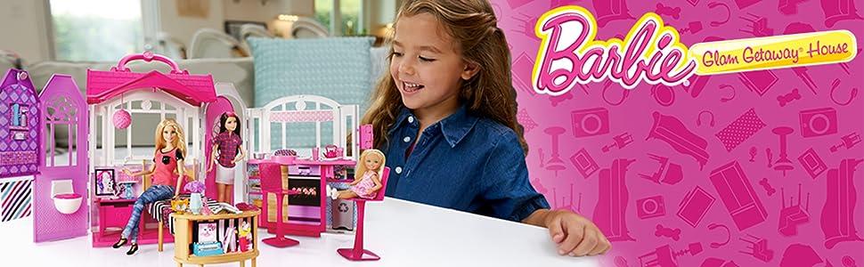 Dollhouses Barbie Glam Getaway House Amazon Exclusive