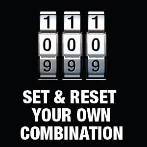 combination lock, combination padlock