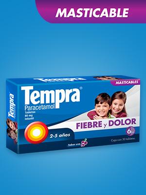 tempra,infantil,fiebre