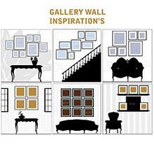 photo frame design, picture frame design, gallery wall design, painting mantra designs