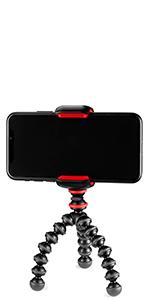 phone, gorillapod, joby, cell clip, tripod, flexible
