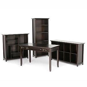 Amazon.com: Mueble bajo para almacenamiento Amherst Simpli ...