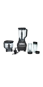 Ninja, Mega, Kitchen, System, Blender, Food, Processor, Crush
