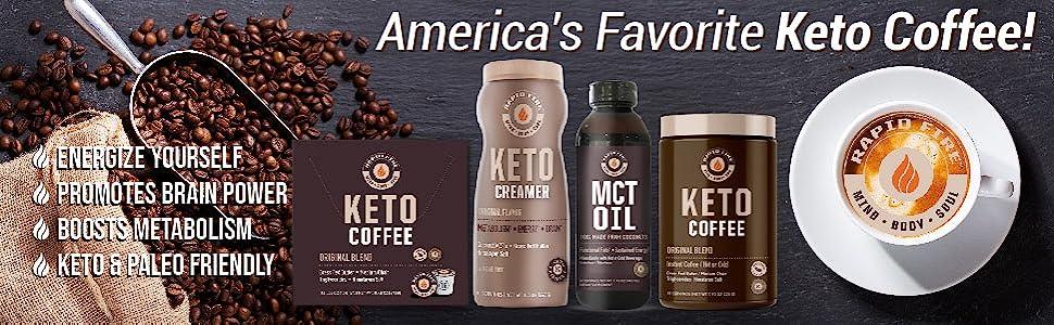 rapid fire keto coffee