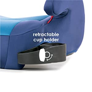 Two Retractable Cup Holders