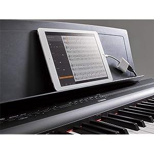 Yamaha P-125 - Piano Digital Portátil Esbelto, dinámico y potente ...