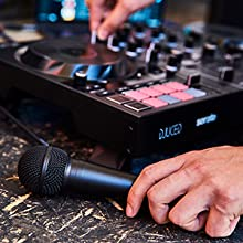microphone, mic, microphone input, balanced, dj controller
