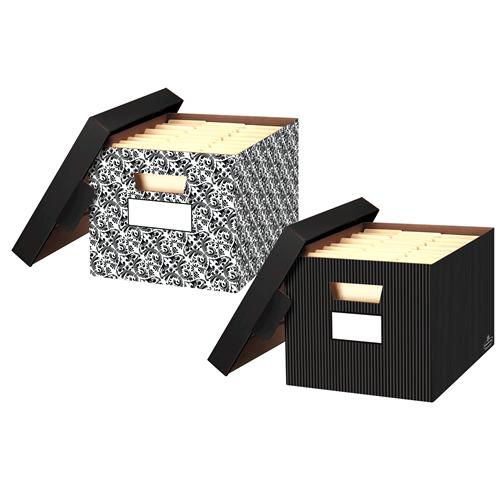 Amazon Small Decorative Boxes: Amazon.com : Bankers Box Store/File Decorative Storage