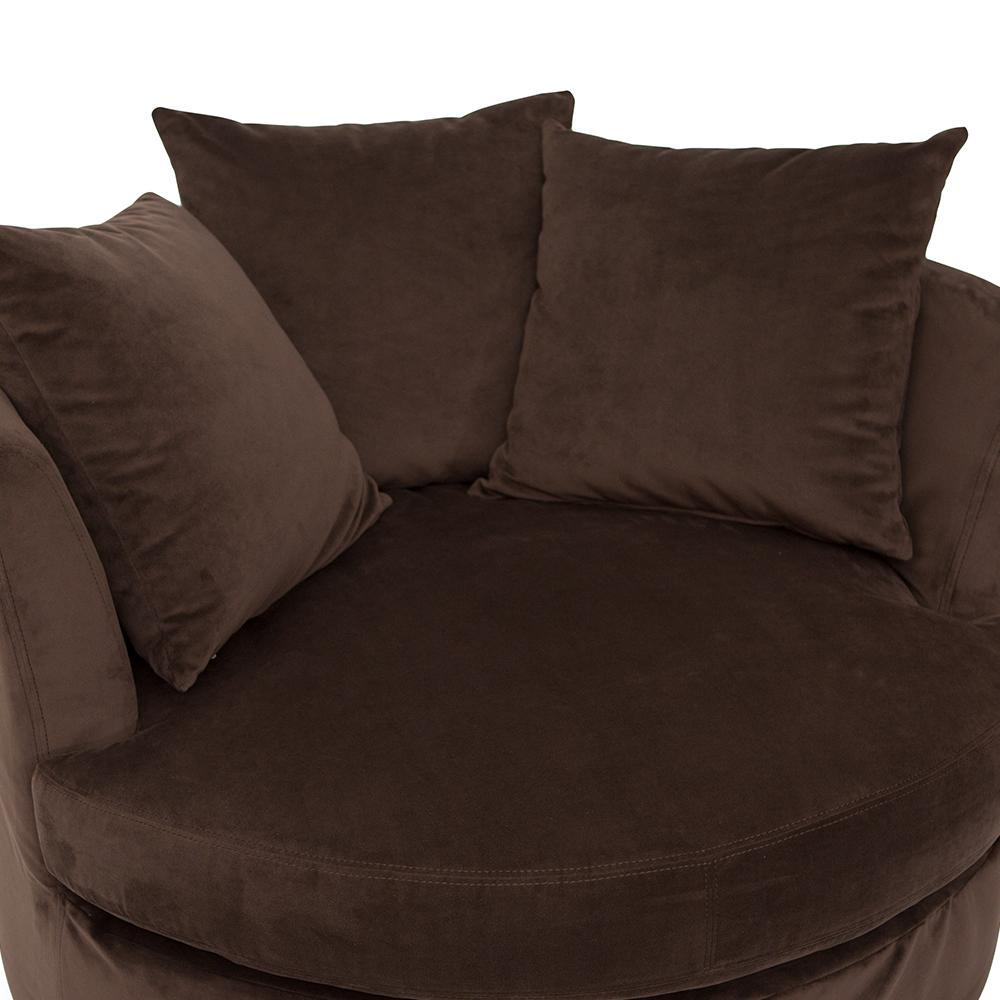 sofa cuddler textiles swivel and cuddle chair with home