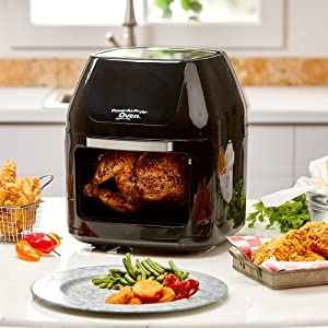 Power Airfryer Oven functions