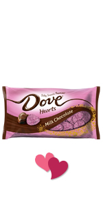 DOVE PROMISES Hearts Valentine's Day Candy