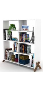 book shelf organiser