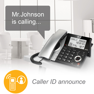 caller id announce