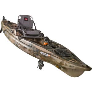 Old Town Predator PDL Fishing Kayak with Rudder