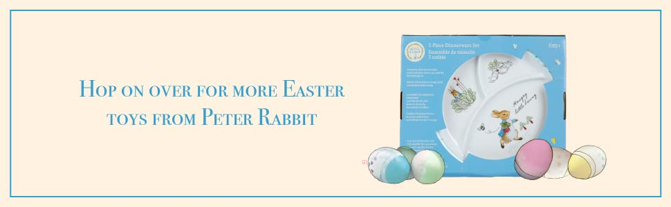 Hop on over for more easter activity toys from peter rabbit