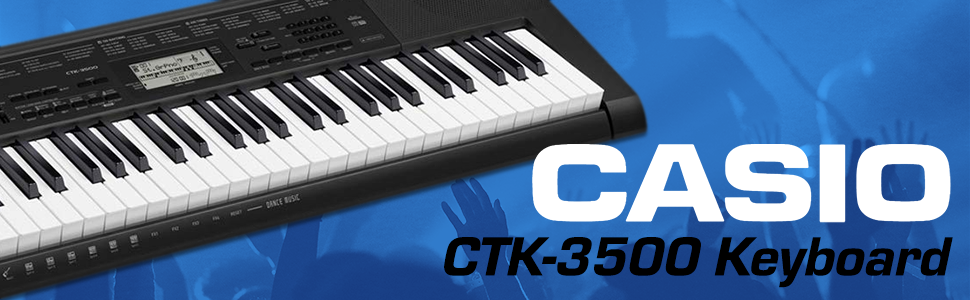 CASIO CTK 3500 KEYBOARD 3