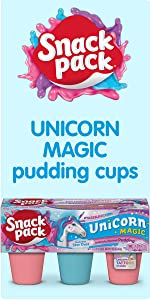 Snack Pack Unicorn Magic Pudding Cups – Fun Snacks for Kids