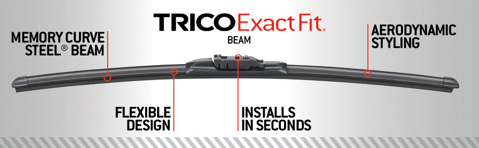 Windshield Wiper Blade-Exact Fit Factory Replacement Blade Trico 24-15B
