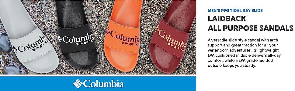 Columbia Men's PFG Tidal Ray Slide