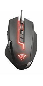 Trust Sikanda GXT 164 MMO Gaming-Maus