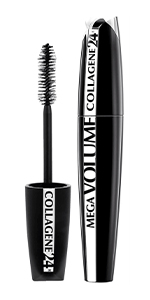 L'Oréal Paris Mega Volume Collagene 24H Siyah Maskara: Amazon.com.tr