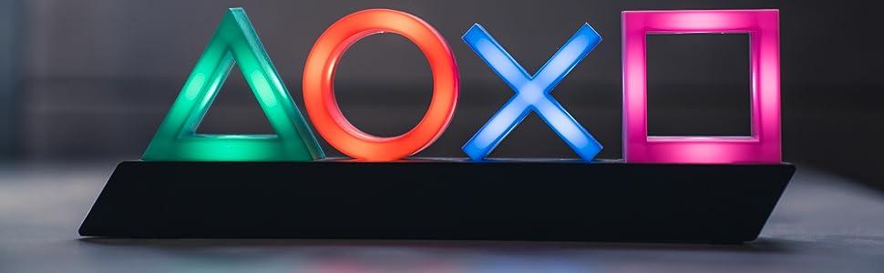 Playstation; PS4; Sony; Zubehör; Lampe; Licht; Leuchte; Gamer; Gadget
