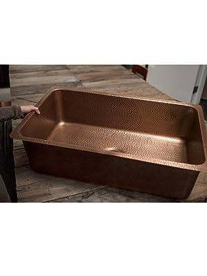 david, undermount, copper, kitchen sink