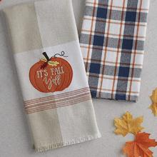 towels,hand,tea,turkish,farmhouse,gray,grey,sack,plaid,embroidered,cute,bathroom,jacquard