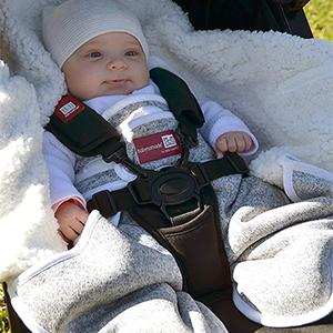 RedCastle, couverture bébé, couverture polaire, pled bébé, pled nourrisson, babynomade, nouveau-né