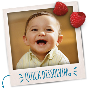 Quick dissolving for easy chewing and swallowing