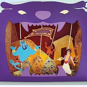 DK, Books, Disney, Disney Ideas Book, Arts and Crafts, Children's Books, Aladdin, Genie