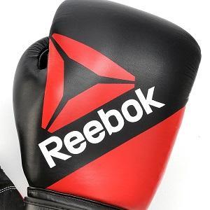 Reebok Gants de Combat en Cuir Gants dentra/înement de Boxe