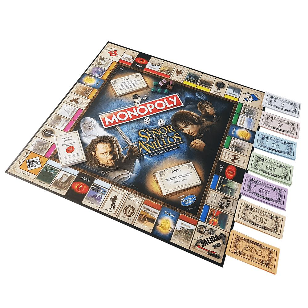 Eleven Force Monopoly El Señor De Los Anillos (63300), Multicolor ...