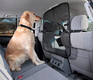 Headrest Mesh Pet Dog Cat Guard Barrier Divider MREQLBL+HMSH66 Mr E Saver/© Premium Quilted Heavy Duty Quality Boot Liner Protector