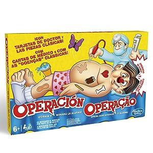 HASBRO, JUEGOS, OPERACION