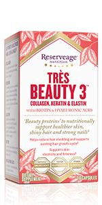 Reserveage Collagen Builder Plant Based Support 60 Capsule Health Personal Care