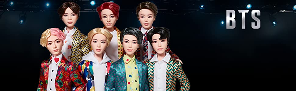 Mattel BTS Idol Doll J Hope RM Jungkook Suga V Jimin Jin Fashion Dolls Fan Gift