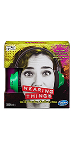 hearing things, hasbro gaming