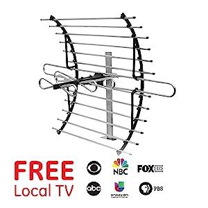 Attic mount indoor tv antenna 33692