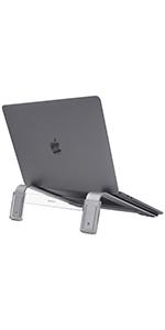 "Elevated Laptop Stand Riser for Office Desk   Tilt All Computer Laptops Apple MacBook 17"" / Pro/Air"
