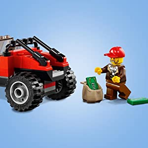 *BRAND NEW* Lego City Set #60172 Dirt Road Pursuit 297 Pieces Police