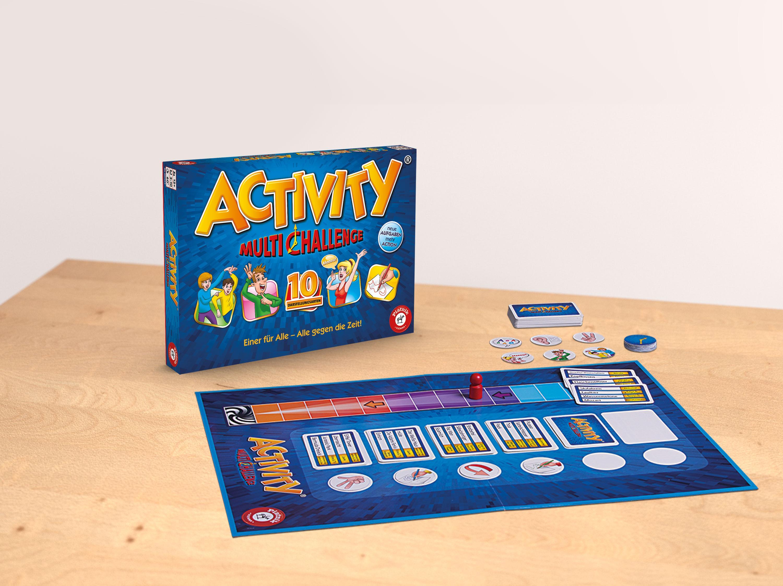 Piatnik 6098 - Partyspiel Activity - Multi Challenge: Amazon.de ...