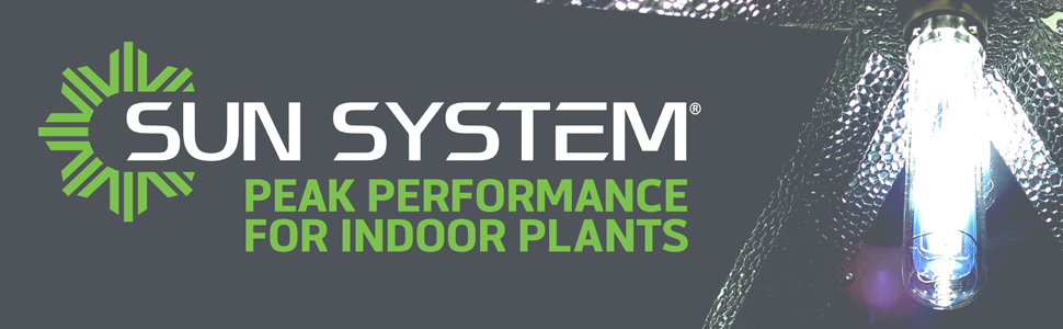 Sun System Peak Performance For Indoor Plants
