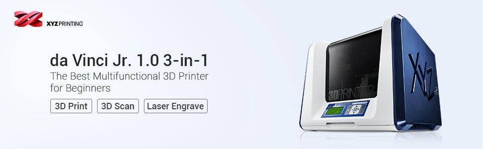 3 in 1, laser engraver, 3d scan, 3d printer