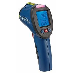 Tfa Dostmann Schimmel Detektor Infrarot Thermometer Mit Taupunktermittlungund Doppellaser Blau L110 X B72 X H240 Mm Garten