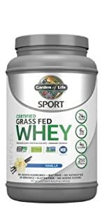 garden of life certified grass fed whey