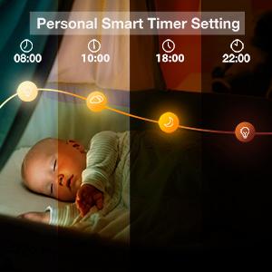 smart bulbsWake Up & Sleep Mode